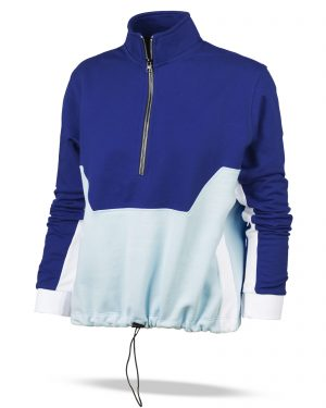سویشرت زنانه 69135- آبی کاربنی (6)