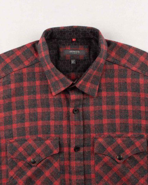 پیراهن مردانه پشمی vk990652