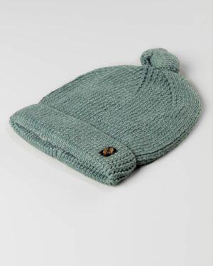 کلاه بافت بچگانه 84002- سبز دریایی (1)