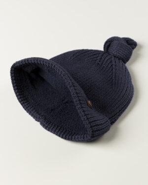 کلاه بافت بچگانه 84002- سرمه ای تیره (2)