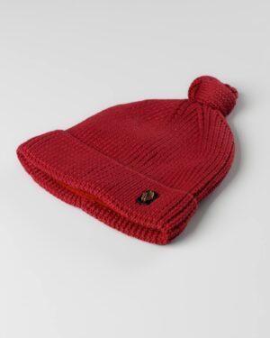 کلاه بافت بچگانه 84002- قرمز (2)