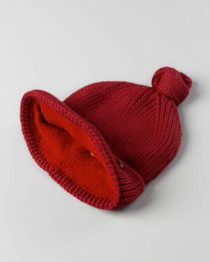 کلاه بافت بچگانه 84002- قرمز (3)