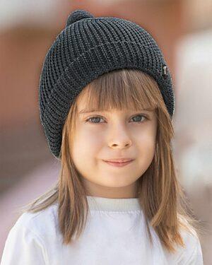 کلاه بافت بچگانه 84002- ماشی