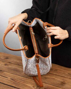 کیف دستی زنانه 110- سفید (10)