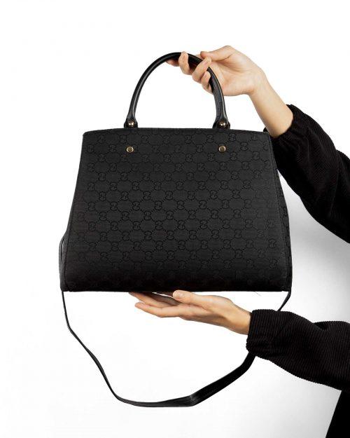کیف دستی زنانه 110- مشکی (7)