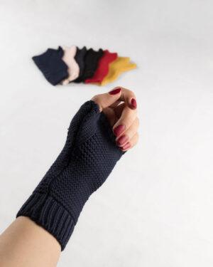 دست پوش 36003- سرمه ای تیره (3)