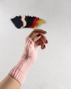 دست پوش 36003- صورتی (3)