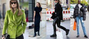 چهار نمونه از لباس های ترند زمستان 2021