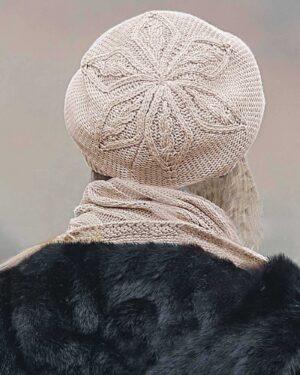 ست شال و کلاه و دستپوش 15033