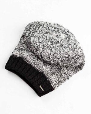 ست شال و کلاه و دستکش 15044- مشکی (2)