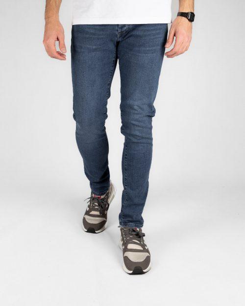 شلوار جین مردانه 990502 آبی تیره (1)