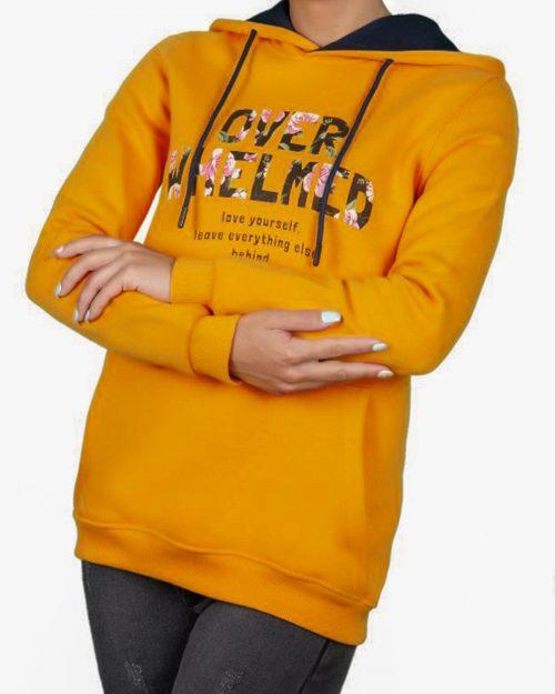 هودی زنانه 89144-زرد (11)