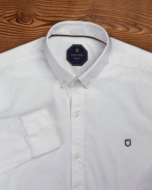 پیراهن سفید مردانه 1075 (8)