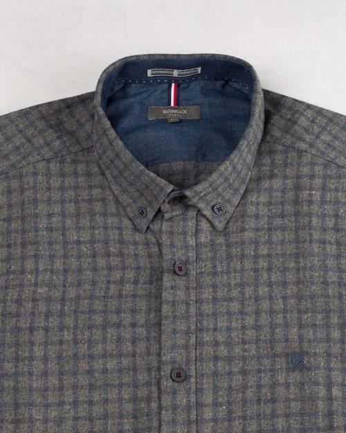 پیراهن مردانه پشمی vk99056 (2)