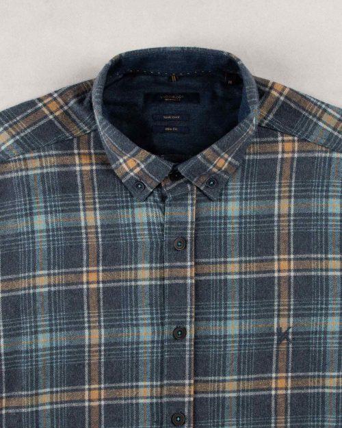 پیراهن پشمی مردانه vk990701