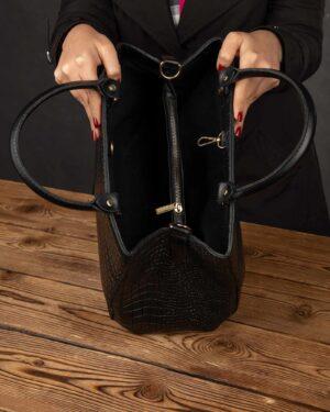 کیف دستی زنانه 110-مشکی (2)