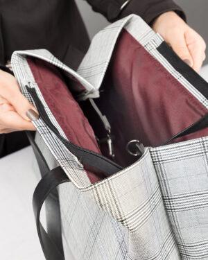 کیف دستی زنانه 800-طوسی کمرنگ (10)