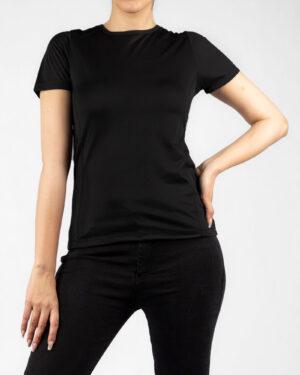 تیشرت زنانه 1123- مشکی (1)