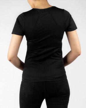 تیشرت زنانه 1123- مشکی (3)