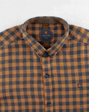 پیراهن مردانه پشمی 1333- خردلی (4)