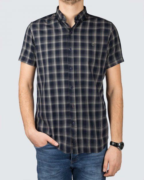 پیراهن مردانه 1295-سرمه ای (7)