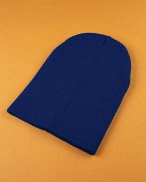 کلاه بافت zk55- آبی کاربنی (1)