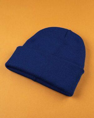 کلاه بافت zk55- آبی کاربنی (3)