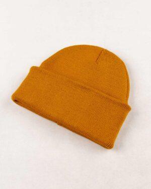 کلاه بافت zk55- خردلی (3)