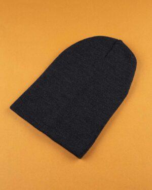 کلاه بافت zk55- سرمه ای تیره (1)