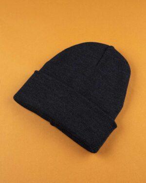 کلاه بافت zk55- سرمه ای تیره (3)