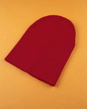 کلاه بافت zk55- قرمز (1)