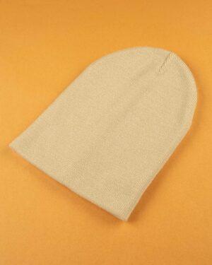 کلاه بافت zk55- کرمی (1)