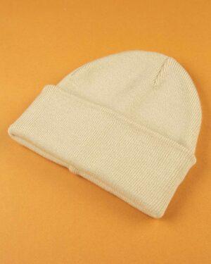 کلاه بافت zk55- کرمی (3)