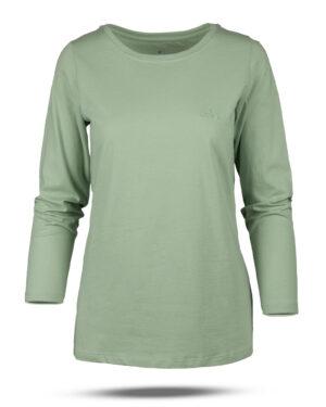 بلوز زنانه 0753- سبز زمردی (1)