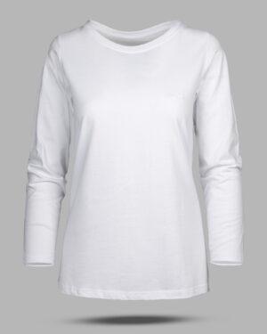 بلوز زنانه 0753- سفید (2)