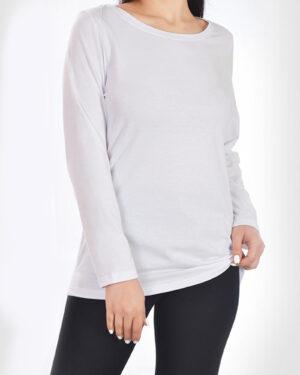 بلوز زنانه 0753- سفید (3)
