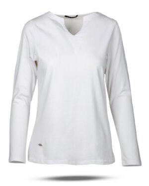 بلوز زنانه 1240 - سفید (1)
