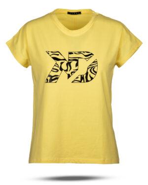 تیشرت زنانه 1187- زرد (2)