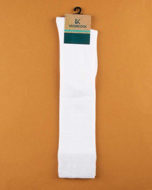 جوراب نخی S35- سفید (1)