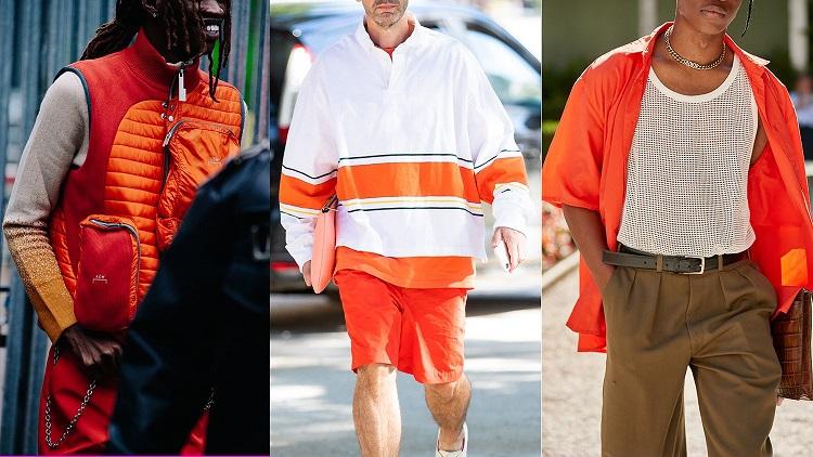 راهنمای ست کردن لباس نارنجی