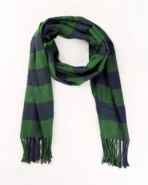 شال گردن shawl125-- سبز تیره (4)