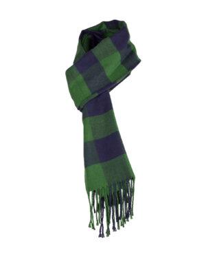 شال گردن shawl125- سبز تیره (7)