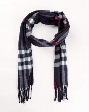 شال گردن shawl125-- سرمه ای تیره (4)