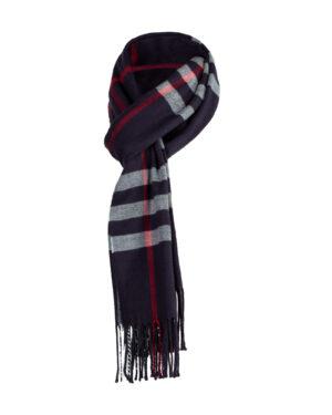 شال گردن shawl125- سرمه ای تیره (6)