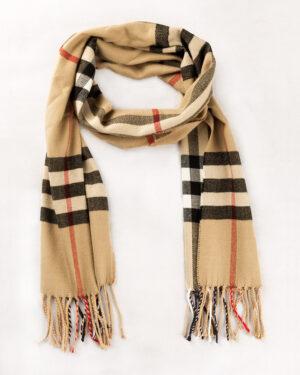 شال گردن shawl125-- کرمی (5)