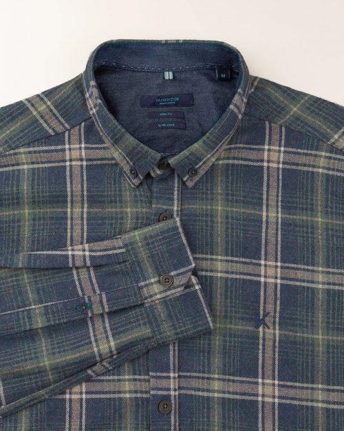 پیراهن مردانه پشمی VK990741 (8)