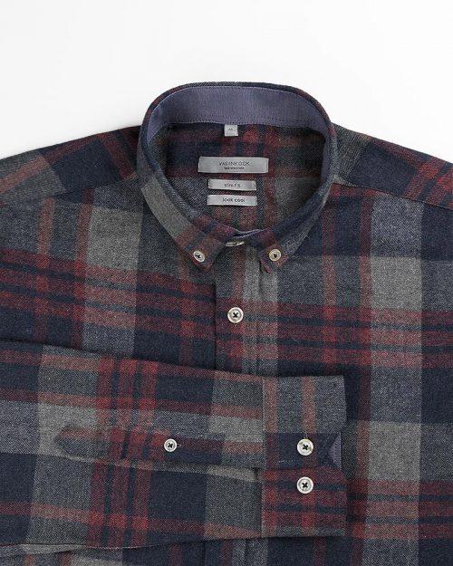 پیراهن مردانه پشمی VKRW99100 (4)