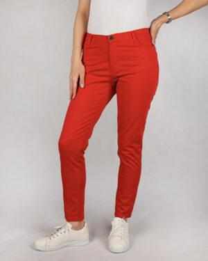 شلوار کتان زنانه vk9910023- قرمز (1)