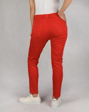 شلوار کتان زنانه vk9910023- قرمز (3)