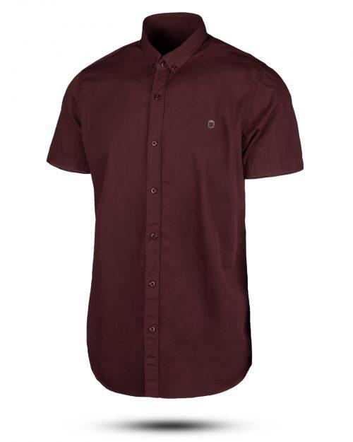 پیراهن مردانه 1201- شرابی (1)